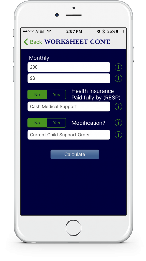 KY Child Support App - iTrialDocs