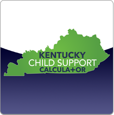 Example of the Kentucky Child Support Calculator app launch icon